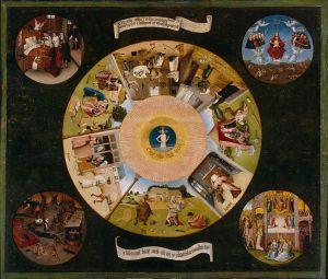 Hieronymus Bosch, Oil On Wood, 1485