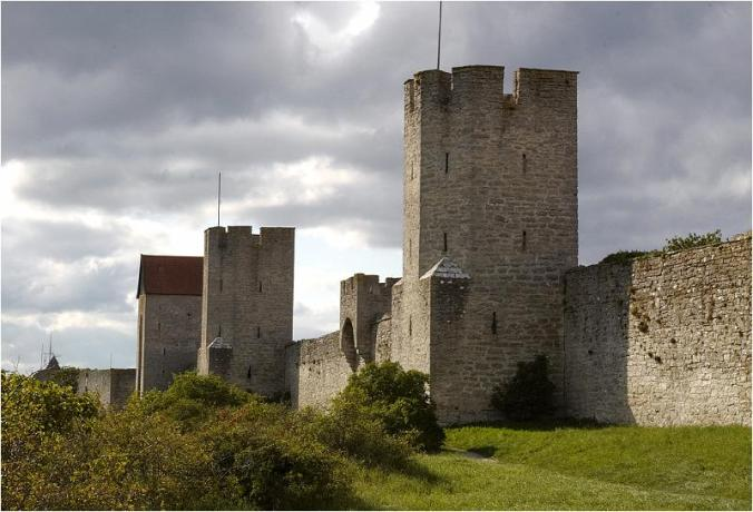 Gotland Visby ringmur sept 08-11