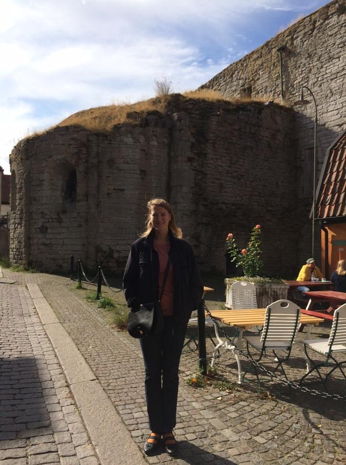 Back in Gotland - with a visit from a friend. / Tilbage på Gotland - nu med besøg af en veninde. <3