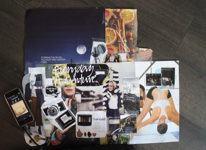 Visionboard for the nearest future... / Et visionboard for den nærmeste fremtid...
