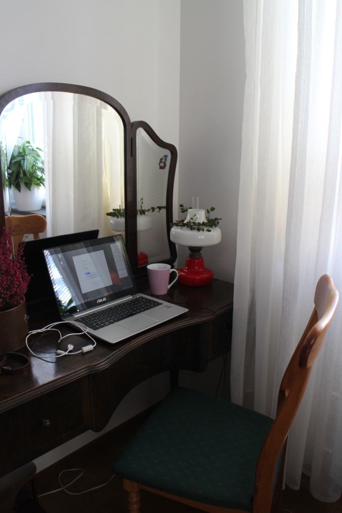 Mit kontor i Stockholm... / My office space in Stockholm...