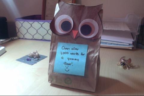 Goodie bag. Image belongs to Emily Sexton (@EmilyASexton on Twitter)
